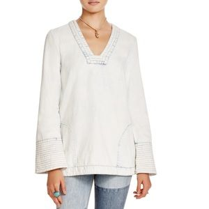 NWT Free People Dreaming of Denim Tunic